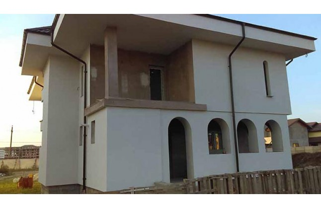 Проект на еднофамилна къща в традиционен стил