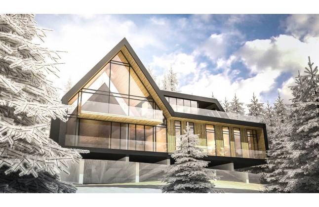 Проект на луксозна вилна къща