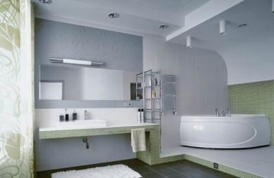 Решения с гипсокартон за баня