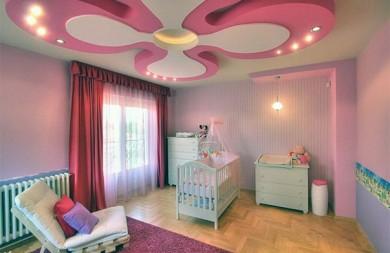 Окачени тавани за детска стая