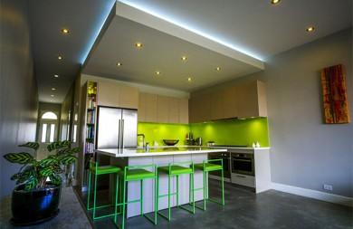 Окачени тавани за кухни